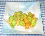蚕豆の天ぷら