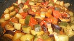 夏野菜のソース