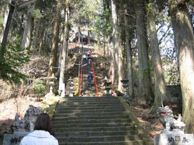 大国神社へ