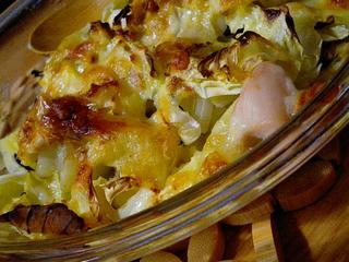 山盛り野菜のチーズ焼き