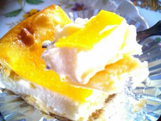 マスカット・ボア「ベイクドチーズケーキ」