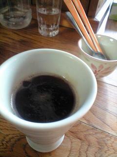 葡萄舎「ホットコーヒー」