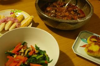 晩ご飯 (2009/2/27)