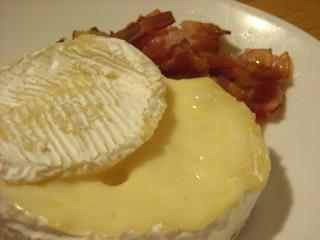 即席チーズフォンデュ