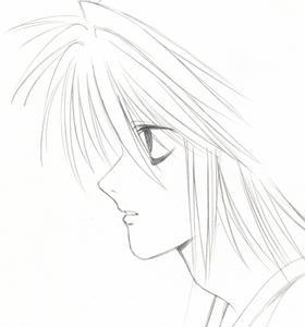だるだる~~な感じの 横顔のL☆