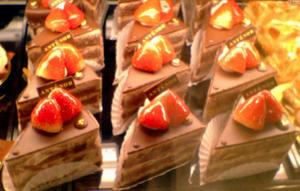 このチョコレートケーキ全部とか