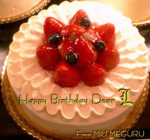 Happy Birthday Dear L