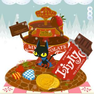 チョコレート ファウンテン~♪