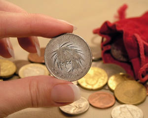 Lのコイン♪