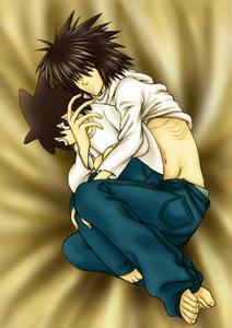 L抱き枕を抱いて眠ってるLたんですが、何か?