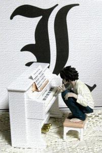 ピアノ弾いてます