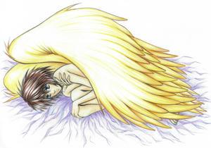横たわる天使L