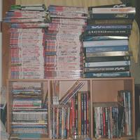 カードリスト + カードゲーム雑誌、書籍達