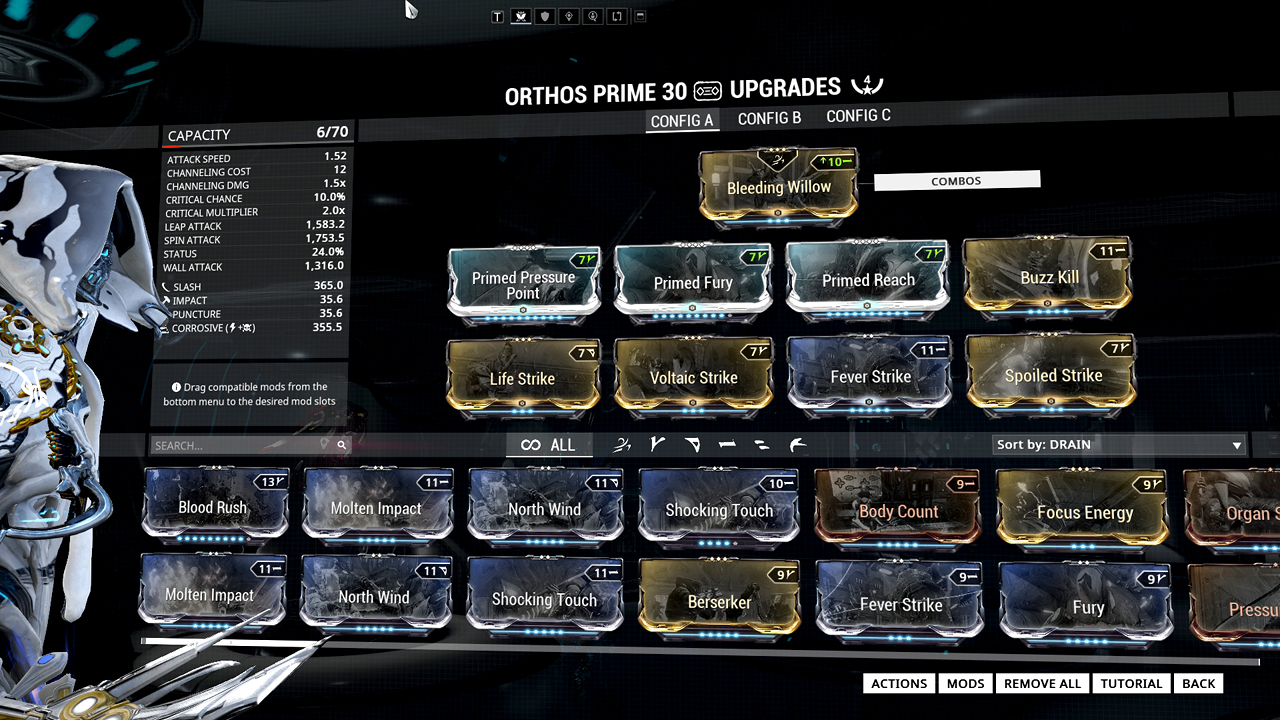 Warframe War Build Pictures To Pin On Pinterest Pinsdaddy