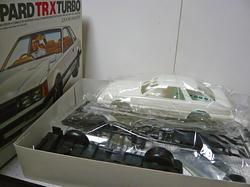 タミヤ レパードTR-Xターボ