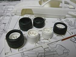 セリカXX可変ウイングの付属ホイール&タイヤ