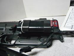 東京マルイMP7A1と無理やり外付けバッテリー
