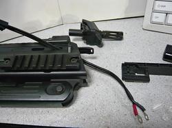 ライラクスMP7A1用外部バッテリー用変換アダプター