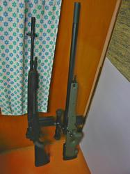 中華製M14とマルイL96