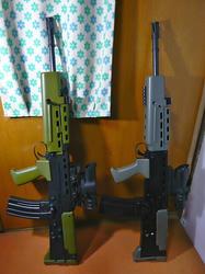 トイスターL85A2と中華製L85A2
