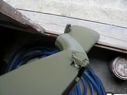 中華製M14の銃床をインディのオリーブドラブで塗装