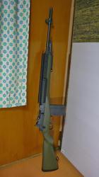 中華製M14塗装後
