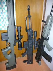 中華製AS50と他の銃との対比