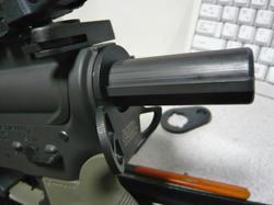 マルイスタンダード電動M4とAABB CQD Rearタイプスリングスイベル