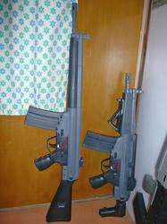 中華製G3A3とMC51