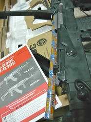 CYMA AK47タクティカルCM.039CとG&PGP552AKバッテリー