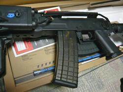 CYMA AK47タクティカル CM.039CとマグプルAK P-MAG