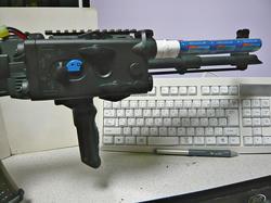CYMA AK47タクティカルとAN/PEQ-2タイプバッテリーボックスとG&P8.4vNi-MH AKバッテリーGP552
