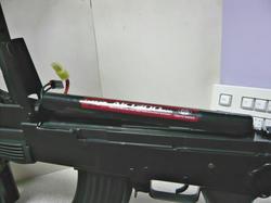 CYMA AK47タクティカルCM.039CとマルイAKバッテリー