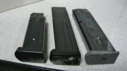 マルイエアコキM9とS2S固定ガスM9とマルシンモデルガンM92FS