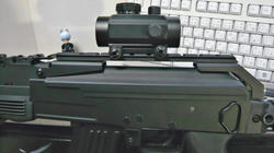 CYMA AK47タクティカルとメーカー不明チューブタイプドットサイト