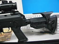 CYMA AK47タクティカルとFAB DEFENSEタイプ GL-SHOCK AR15バットストックBK