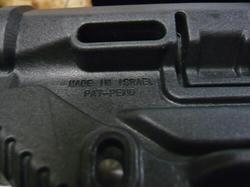 FAB DEFENSEタイプ GL-SHOCK AR-15バットストックBK