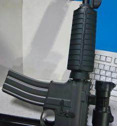 マルイスタンダード電動M4(リアルサイズ化済み)にG&G CM16マガジンとハンドガード