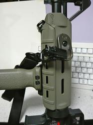G&G CM16 Carbine LightにMagpul PTS MOEハンドガードとRVGとMSAレプリカとMS2スリングレプリカ