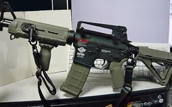 G&G CM16 Carbine LightにMagpulPTSパーツ