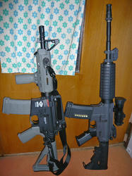 G&G CM16 Carbine Lightとマルイスタンダード電動M4