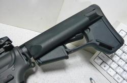 マルイスタンダード電動M4とマグプルACSカービンストックレプリカ