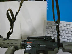 G&G CM16とマグプルMS3スリングレプリカ