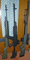CYMA AK47タクティカルCM.039Cロング改と愉快な仲間たち