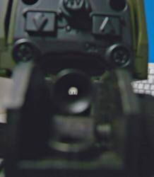 SHS M16キャリハンマウントとマルイM4キャリハン
