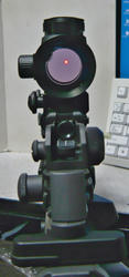 SHS M16キャリハンマウントとトイスターM4A1キャリハンとノーブランドドットサイト