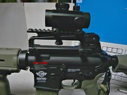 SHS M16キャリハンマウントとG&G CM16