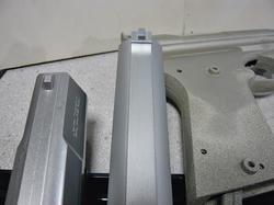 キャロムステンレスシルバーカラースーパーハードタフとチタニウムシルバーとメディコムスーパーブライトプラス