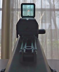 中華エアコキバレットM82A1にHYUGA Konieオープンドットサイト