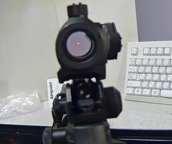 G&G CM16とNB T-1タイプドットサイトレプリカ